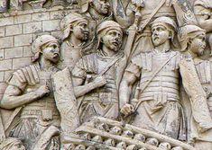 Legionaries on Trajan's column.