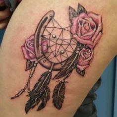 Image result for roses and horse shoe tattoos designs