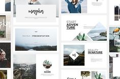 Mayka PowerPoint Template by Angkalimabelas on @creativemarket
