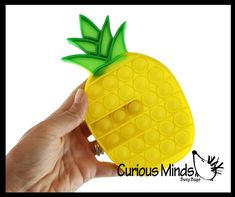 Bubble Popper, Pineapple Fruit, Stress Toys, Fidget Toys, Bubble Wrap, Silicone Molds, Bubbles, Occupational Therapy, Airplane