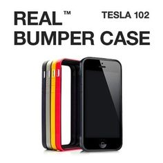 REAL Bumper Case for iPhone 5 at U$25.98.