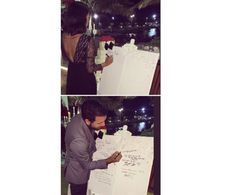 Write your Wishes for the Bride & Groom