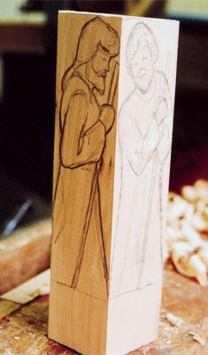 Carve a Christmas Nativity Scene - The Woodworkers Institute [This is a pretty good look at how carving should be approached - good for reference to any carving project. This is 1 of very few posts I have in 2 places]