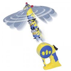 The Minions craze reaches new heights with the Minions Flying Heroes.