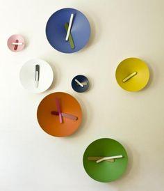 Mozia Clocks, EL TIEMPO EN COLOR