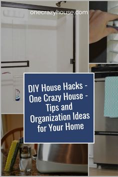 You scour the internet hoping to find tips to get your home organized, but there's TONS of information out there. Since we're the home of hacks, we decided that it was time to round up all those great posts to give you the ultimate guide to home...