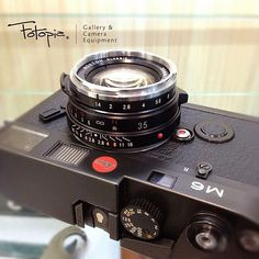 Leica M6 with Voigtlander Nokton 35mm f1.4 II S.C.