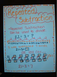 math worksheet : division on pinterest : Division As Repeated Subtraction Worksheets