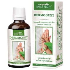 Dermogent, 50 ml, Dacia Plant : Farmacia Tei Achillea, Thing 1, Fungi, Shampoo, Hair Beauty, Bottle, Allergies, Natural Remedies, Tips