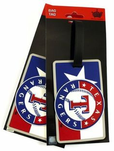 MLB Texas Rangers Two Pack Soft Laser Bag Tag by aminco. $8.96. Road trips, vacation, or at work these soft bag tags are a perfect way to show off your favorite team affiliation anywhere you travel! Made of high quality durable material, they can withstand all kinds of weather and are the perfect accessory for your backpack, briefcase, suitcase or anything you want to identify.