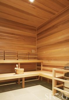 Cedar Sauna / IO spa / Marin