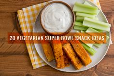 These 20 vegetarian Super Bowl snacks prove that you don't need bacon, wings and more bacon to throw a Super Bowl party!
