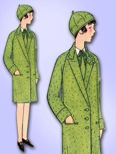 1920s Original Stunning Unused Little Girls Coat Pattern | eBay