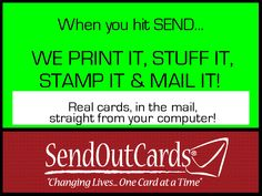 Make someone's day!!  Send a real card right from your own computer.