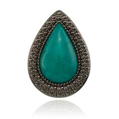 SAMANTHA WILLS Bohemian Bardot Ring Sea Green