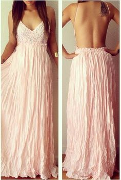 Love this pink dress, just need a reason to wear it!