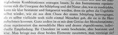 """""""In den Instrumenten repräsentieren sich die Urorgane der Schöpfung und der Natur..."""" Richard Wagner"""