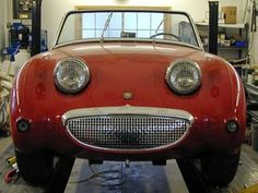 Austin-Healey Sprite. Got to be the happiest car out there!