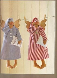 Pattern for Tilda dolls- and how cute are they??