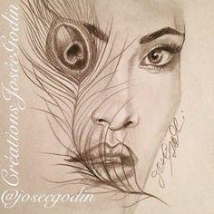 Créations Josée Godin - Illustration - Drawing - Art - Artiste