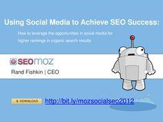 "Social Media for #SEO in 2012 on @SlideShare via @Rand Fishkin the ""Unofficial Leader of the New World"" & @SEOmoz http://j.mp/UDfJ7f"