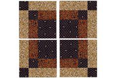 Bonnie Scotsman Quilt Block Pattern