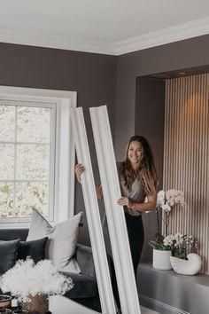 VI LISTER HUSET SELV! - Deco Systems Oversized Mirror, Curtains, Living Room, Bedroom, Furniture, Design, Home Decor, Villa, Modern