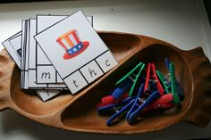 beginning sounds - 4th of July Independence Day printables #phonics