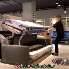 Space Saving Ideas 2018 EveSteps is part of Furniture - People who are living in small apartment always searching for space saving ideas to save every possible inch There are many ideas around the web Folding Furniture, Space Saving Furniture, Home Decor Furniture, Furniture Decor, Diy Home Decor, Smart Furniture, Furniture Websites, Furniture Movers, Furniture Outlet