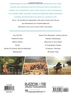 The Piano Guys - Simplified Favorites, Vol. 1: Easy Piano Arrangements with Optional Cello Parts