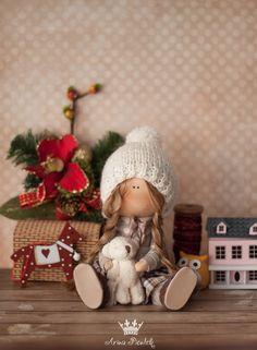 Muñecos hechos a mano por Arina Piontek   VK