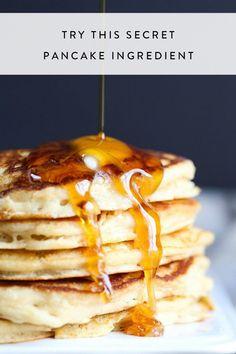 The Secret Ingredient That Will Make Pancakes Taste Incredible via @PureWow