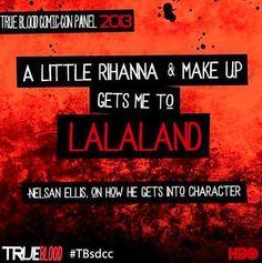 True Blood Comic Con Panel Quotes  | Nelsan Ellis | Lafayette Reynolds