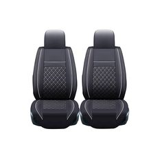 53.33$  Buy now - http://aliidi.worldwells.pw/go.php?t=32782178368 - 2 pcs Leather car seat covers For Lada 110 111 112 Samara Signet Kalina Niva Vesta XRAY Granta priora car accessories styling