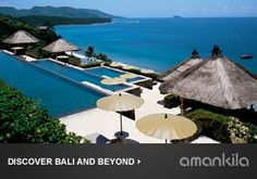 """With a location in eastern Bali right on the Lombok Strait, """"this beautiful resort is very much in touch with its community."""" Overall score: See full rating information for Amankila, Bali Hotel Swimming Pool, Amazing Swimming Pools, Best Swimming, Hotel Pool, Bali Honeymoon, Honeymoon Destinations, Honeymoon Ideas, Honeymoon Suite, Honeymoon Packages"""