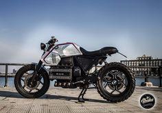 """Shaka Garage Bari: BMW k100 """"SILVER GILLS"""" by Shaka Garage Bari"""