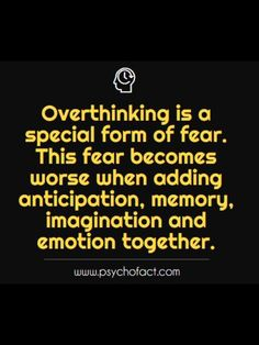 Phycological Facts - Anxiety