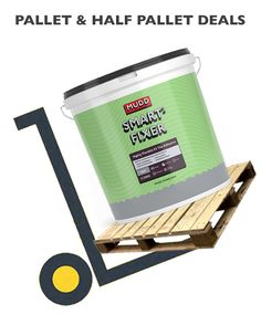 Loving pallet deals at Buy The Pallet. Always doing our best to be deliver the best (deals). Offering MUDD Smart2 Fixer on best pallet deals, A Highly Flexible S2 Tile Adhesive. Ideal for problematic floors with movement. BuyThePallet.co.uk Tongue And Groove Timber, Plywood Board, Quarry Tiles, Adhesive Tiles, Underfloor Heating, Baseboards, Porcelain Tile, Interior And Exterior, Pallet