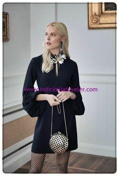 roman-kol-detayli-siyah-midi-abiye-elbise.jpg (520×770)