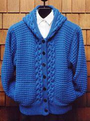 I really like this sweater!  Mari Sweaters  Mari Dembrow began Mari Sweaters 30 years ago, in 1977, in Eugene Oregon.
