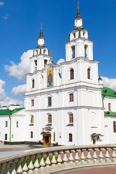 Orthodox Cathedral of the Holy Spirit in Minsk #Travel #Belarus
