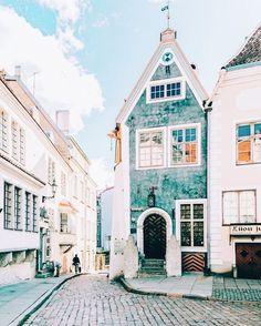 Old Town Tallinn, Estonia. Cute little village quaint town in Estonia. Wanderlust bucket list travel destinations in Europe. Places Around The World, Oh The Places You'll Go, Places To Travel, Travel Destinations, Around The Worlds, Travel Europe, Vacation Travel, Travel 2017, Winter Destinations