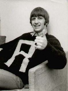 1965 - Ringo Starr: Mrs Weasley made him a Christmas sweater
