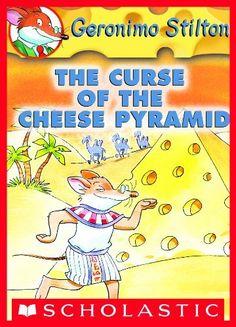 Geronimo Stilton #2: The Curse of the Cheese Pyramid by Geronimo Stilton, http://smile.amazon.com/dp/B005E888IO/ref=cm_sw_r_pi_dp_kynfvb035MNWD
