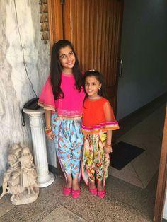 Kids Indian Wear, Kids Ethnic Wear, Frocks For Girls, Kids Frocks, Little Dresses, Little Girl Dresses, Big Girl Fashion, Kids Fashion, Kids Lehenga