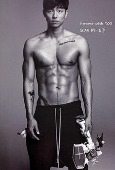 Gong Yoo's chocolate abs. *nosebleed*