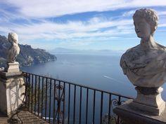 Infinity terrace.  Ravello. Amalfi coast