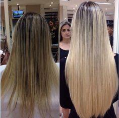 Este Ombre têm o seu lugar. (Siga @ elton.rodriguez on Instagram) Long Hair Styles, Beauty, Instagram, Platinum Blonde Hair, Long Hairstyle, Long Haircuts, Long Hair Cuts, Beauty Illustration, Long Hairstyles