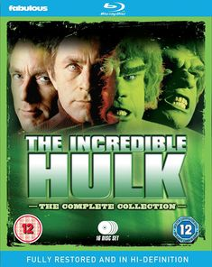 The Incredible Hulk: The Complete Collection Blu-ray Bill Bixby Hulk Character, Las Vegas, Temporary Jobs, Amazon Dvd, Emmy Nominees, 1080p, Comic Book Pages, Marvel Comic Books, Dvd Blu Ray