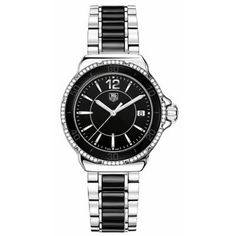 TAG Heuer Women's WAH1212.BA0859 Formula One Black Dial Watch $1,725.00 (save $875.00)
